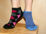 Women's Low Cut Patterned Sock
