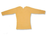 Women's Tangerine 3/4 Sleeve Shirt