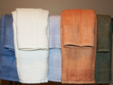 Luxury Bath Towel Rich Blue