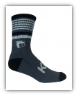 3/4 Crew Striped Bamboo Athletic Sock