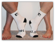 3/4 Crew 2 Tone Athletic Sock