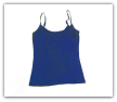 Women's Royal Blue Spaghetti Tank